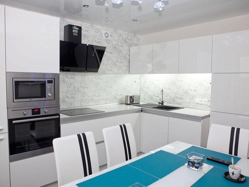 Кухня SIDAK Acryl Белый